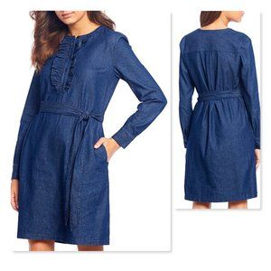 Draper James Tie Waist Shift Dress 10